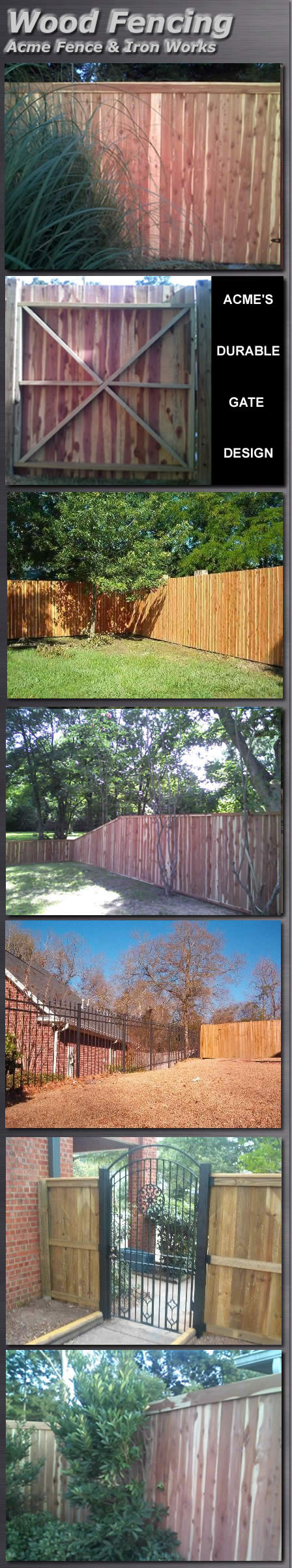 woodfencing